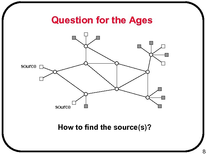 Question for the Ages source How to find the source(s)? 8