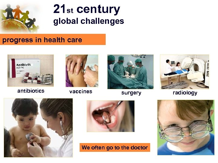21 st century global challenges progress in health care antibiotics vaccines surgery We often