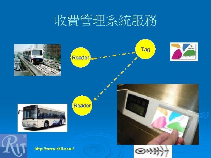 收費管理系統服務 Tag Reader http: //www. ritii. com/