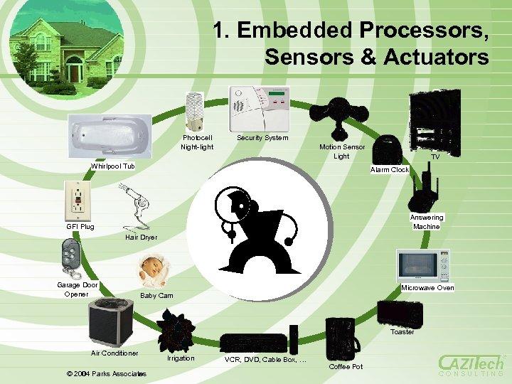1. Embedded Processors, Sensors & Actuators Photocell Night-light Security System Motion Sensor Light Whirlpool