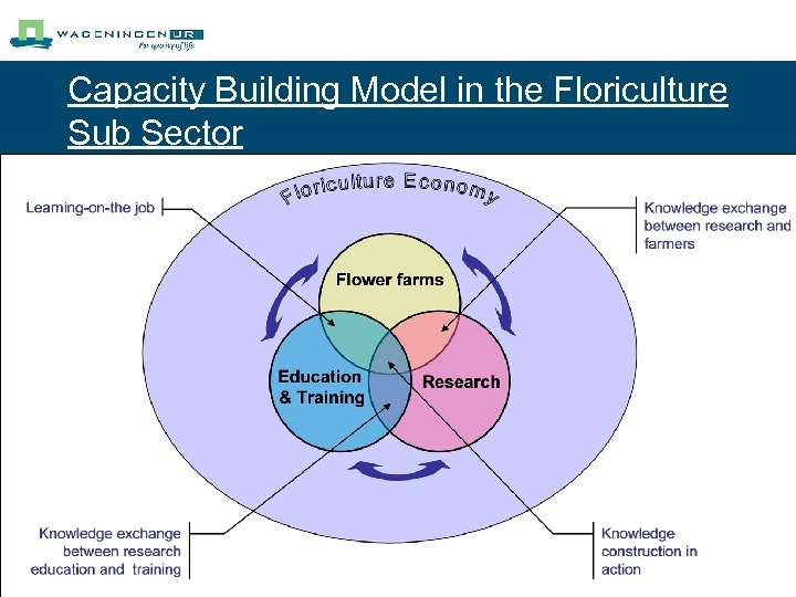 Capacity Building Model in the Floriculture Sub Sector