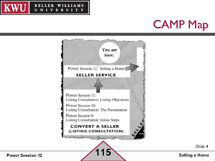 CAMP Map Power Session 12 115 Slide 4 Selling a Home