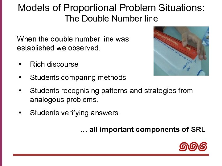 Models of Proportional Problem Situations: The Double Number line When the double number line