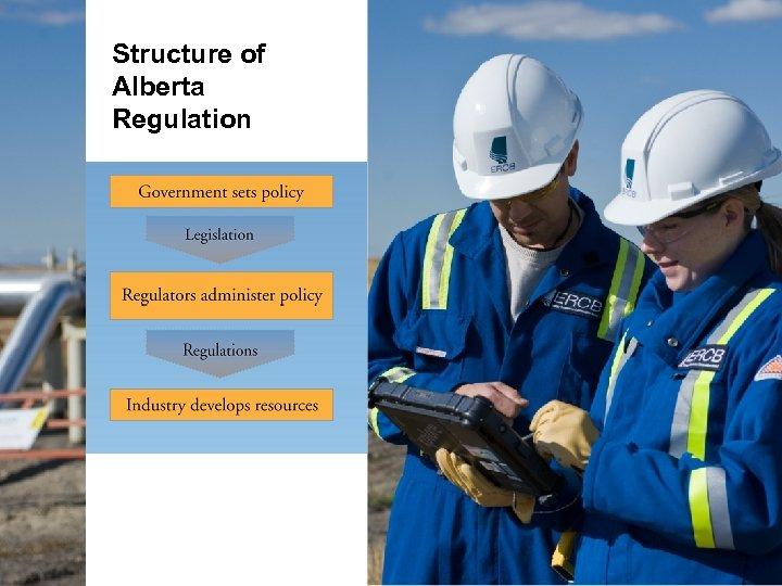 Structure of Alberta Regulation