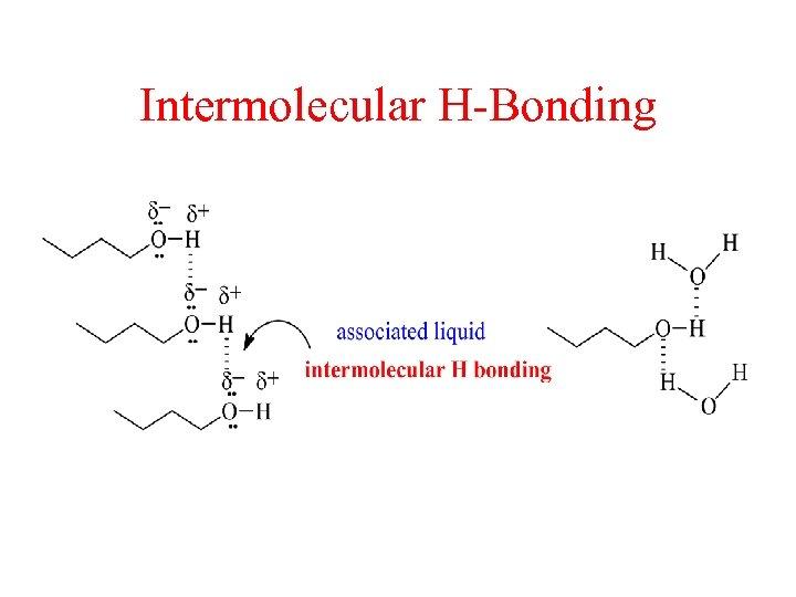 Intermolecular H-Bonding