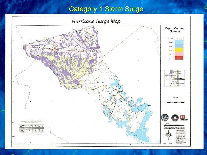 Category 1 Storm Surge