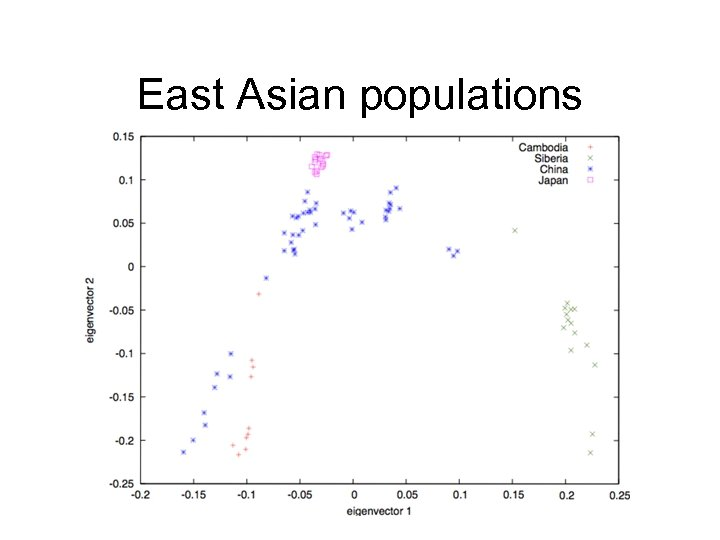 East Asian populations
