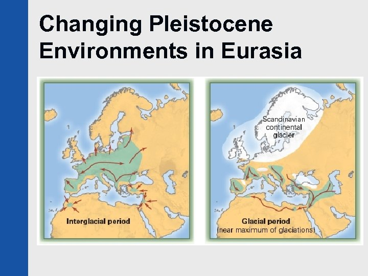 Changing Pleistocene Environments in Eurasia