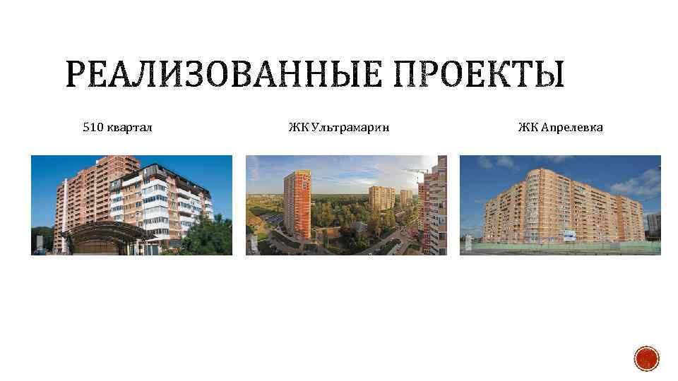 510 квартал ЖК Ультрамарин ЖК Апрелевка