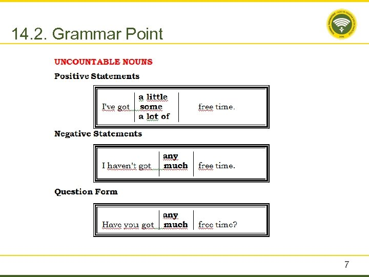 14. 2. Grammar Point 7