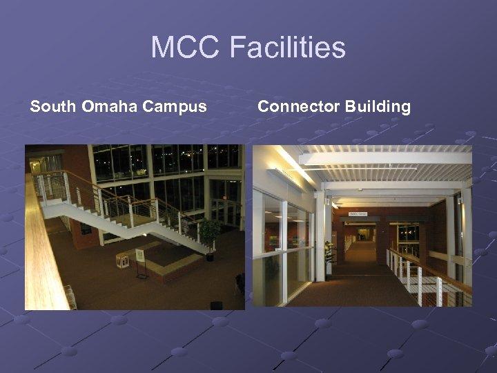 MCC Facilities South Omaha Campus Connector Building