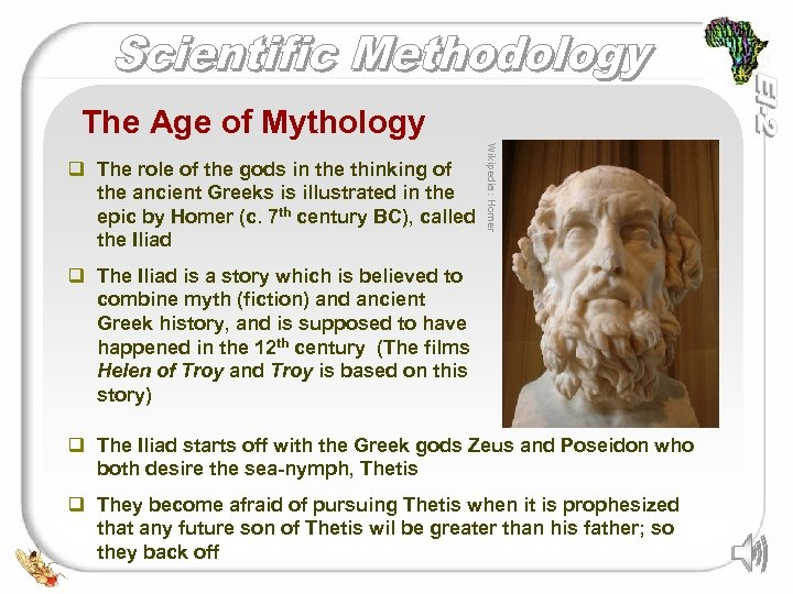 The Age of Mythology Wikipedia: Homer q The role of the gods in the