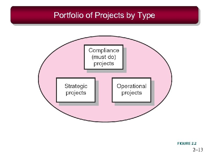 Portfolio of Projects by Type FIGURE 2. 2 2– 13