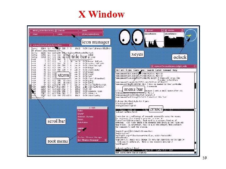 X Window 39