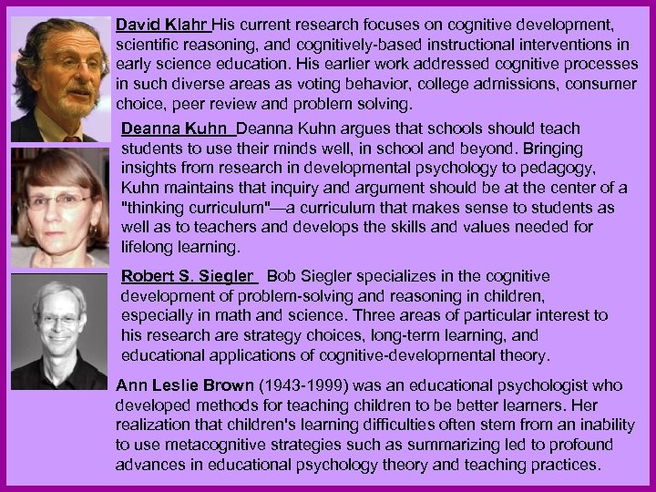 an explanation of the impact of parents and family on cognitive development and social theory of lea Explanations of gender development (eg social learning theories, cognitive development both of the theories outlined above have strengths and weaknesses, which will be discussed in this schema theories and social learning theory provide invaluable insight into the gender development.