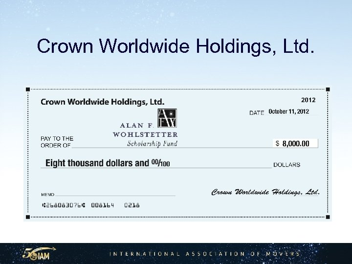 Crown Worldwide Holdings, Ltd.