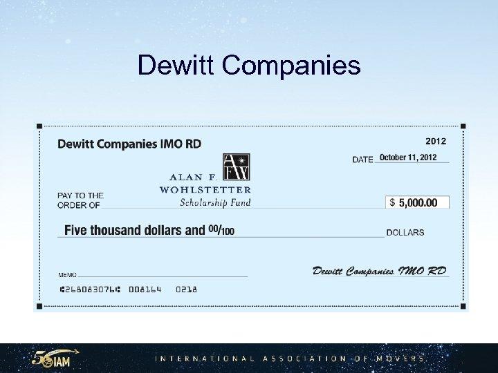 Dewitt Companies