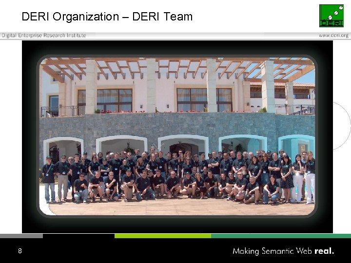DERI Organization – DERI Team 8