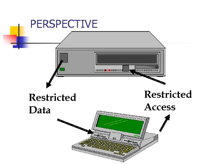 PERSPECTIVE Restricted Data Restricted Access