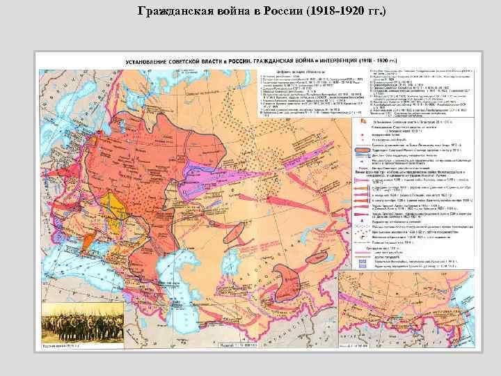 Гражданская война в России (1918 -1920 гг. )