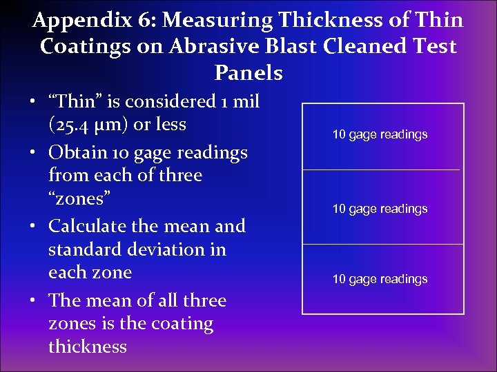 an overview of the procedure of measuring thickness of concrete Overview - part i of iii part i thickness testing to verify the accuracy of the ue method, surface p-wave speed and thickness measurements were performed on several vertical cast-in-place walls using the measured p-wave speed gave accurate thicknesses in cases of known actual.