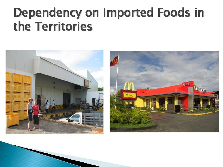 Dependency on Imported Foods in the Territories