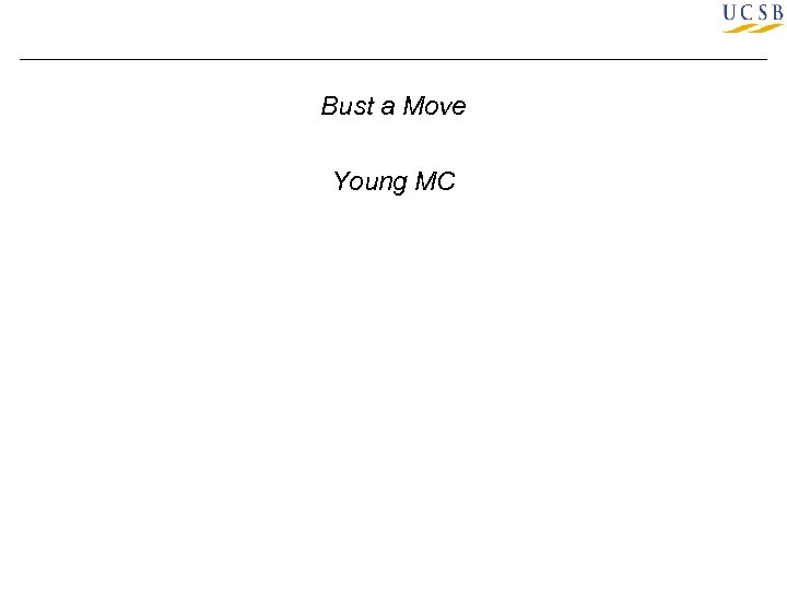 Bust a Move Young MC