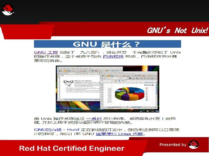 GNU's Not Unix!