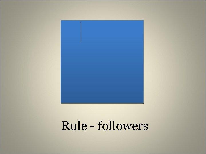 Rule - followers