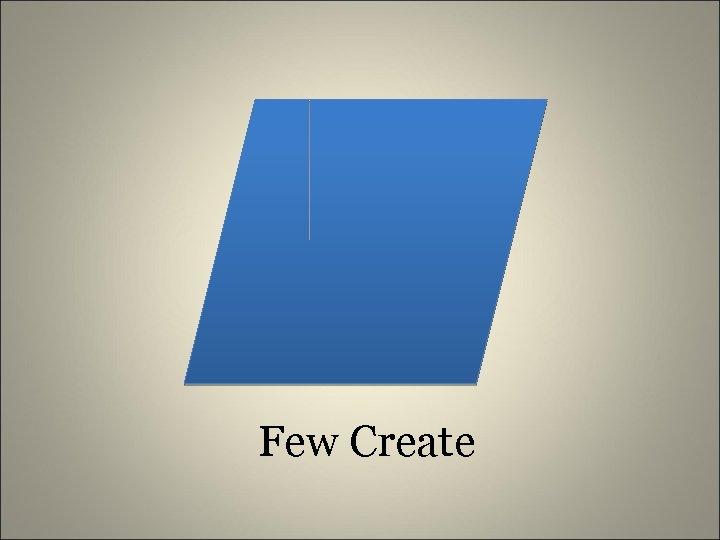 Few Create