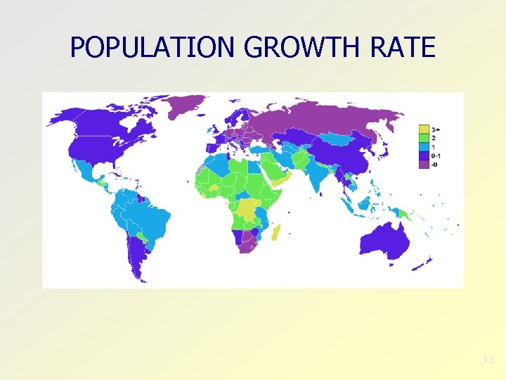 POPULATION GROWTH RATE 34