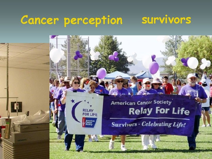 Cancer perception survivors