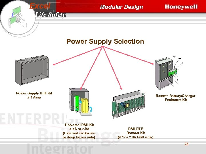 Excel Modular Design Life Safety Power Supply Selection Power Supply Unit Kit 2. 5