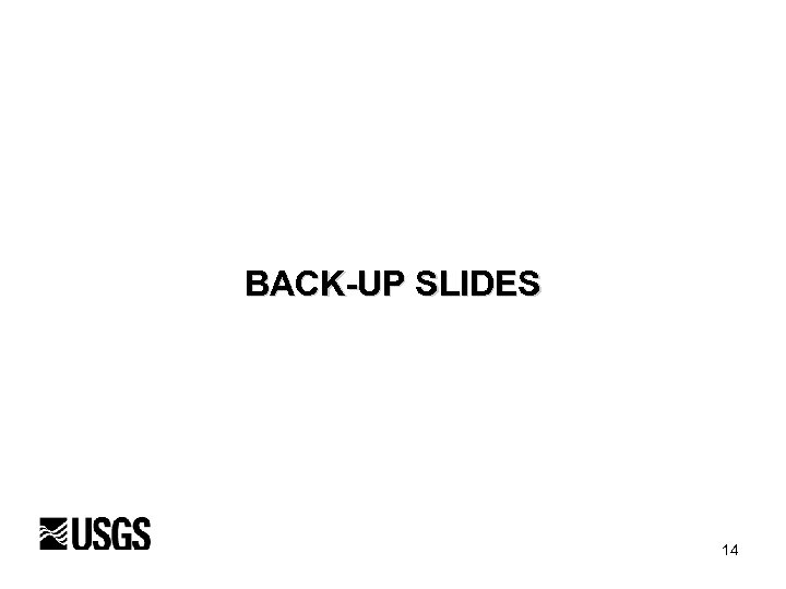 BACK-UP SLIDES 14