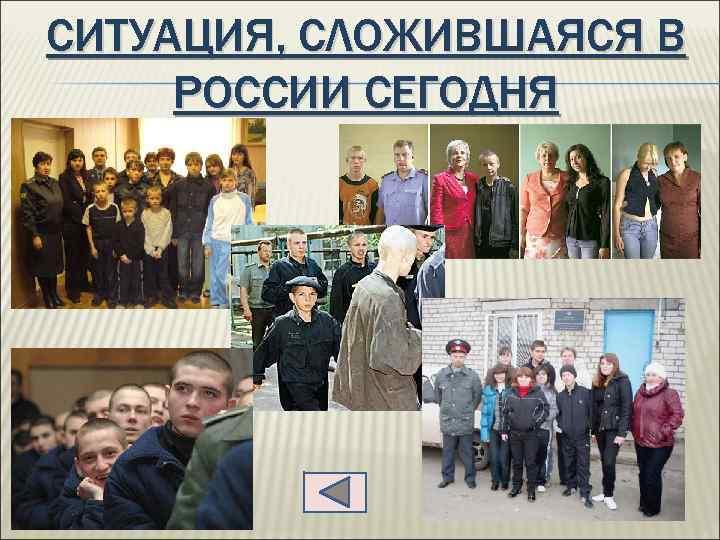 СИТУАЦИЯ, СЛОЖИВШАЯСЯ В РОССИИ СЕГОДНЯ