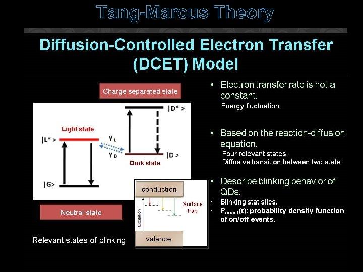 Tang-Marcus Theory