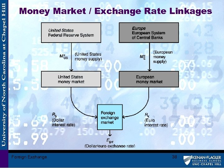 Money Market / Exchange Rate Linkages Foreign Exchange 38