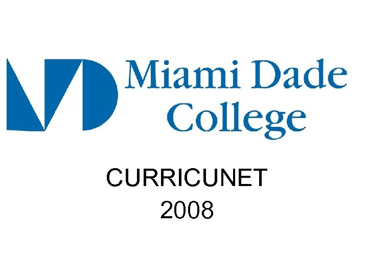 CURRICUNET 2008