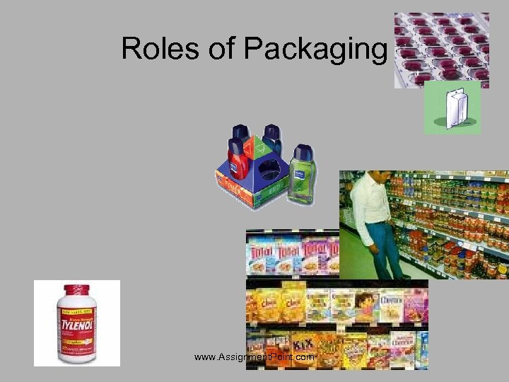 Roles of Packaging www. Assignment. Point. com