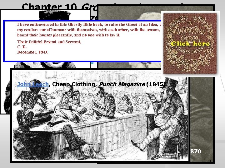 Chapter 10 Growth and Expansion 1790 -1825 I have endeavoured in this Ghostly little