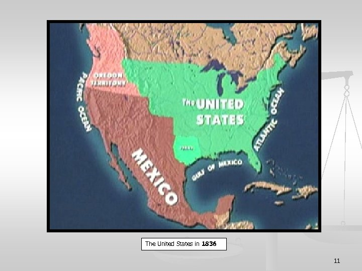 The United States in 1836 11