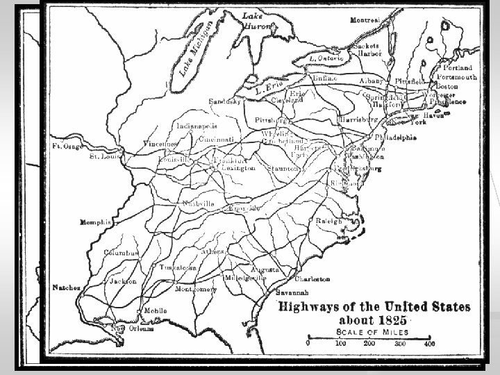 American Population Centers in 1820 12