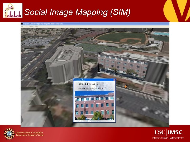 Social Image Mapping (SIM) National Science Foundation Engineering Research Center