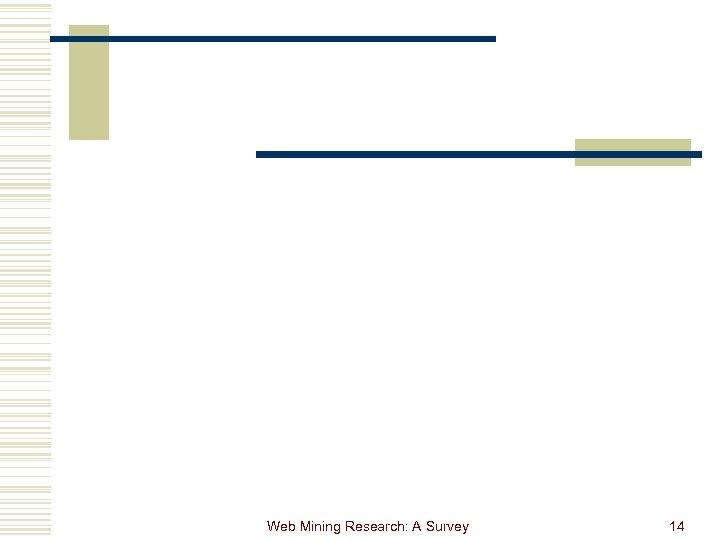 Web Mining Research: A Survey 14