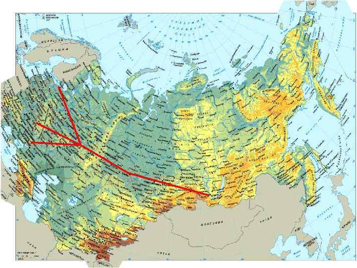 Нефтепроводы • Протяженность- 48 000 км. • Центр нефтепроводной системы Альметьевск