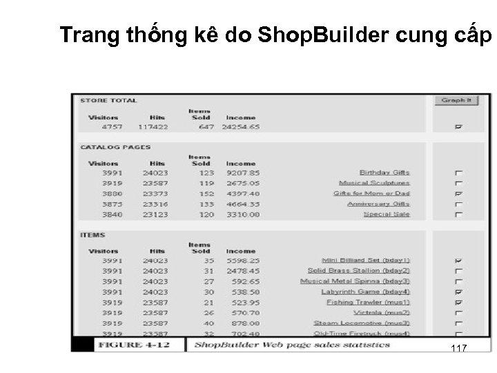 Trang thống kê do Shop. Builder cung cấp 117