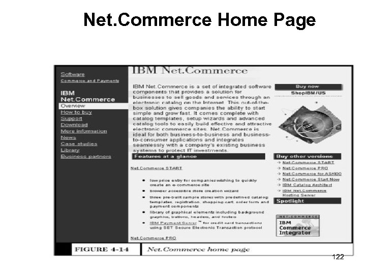 Net. Commerce Home Page 122