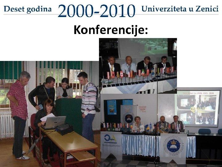 Konferencije: