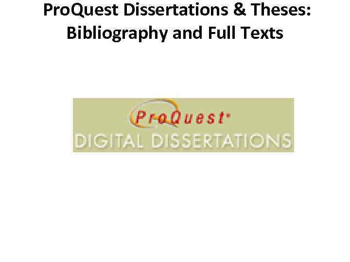 uva proquest dissertations In order to copy your dissertation or thesis from proquest to the virginia henderson global nursing e-repository (henderson repository) etd community, your permission is.