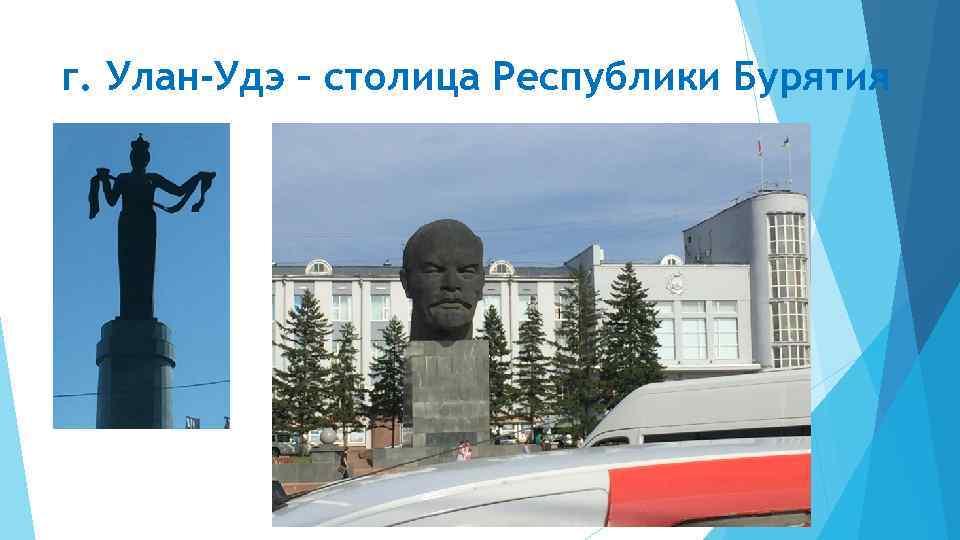 г. Улан-Удэ – столица Республики Бурятия